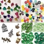 Brads, Buttons, Charms & Eyelets