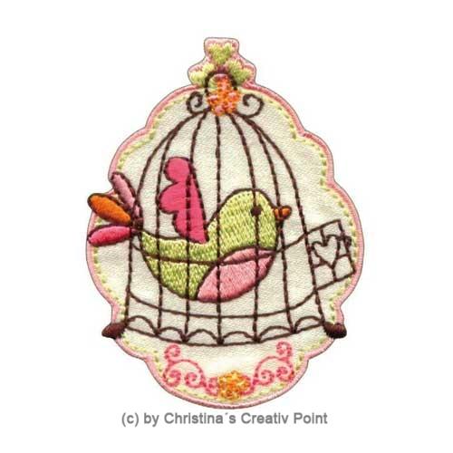 Aufbügler Vogel Käfig 6 cm