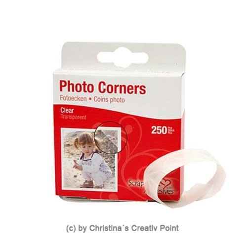 Fotoecken transparent 250 Stück