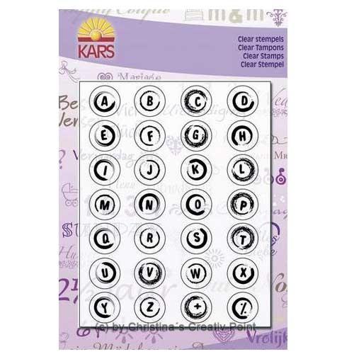 Stempel Buttons Buchstaben