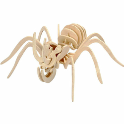 3D-Holzpuzzle Spinne 18x22 cm*