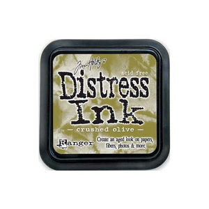 Distress Ink Crushed Olive Stempelkissen