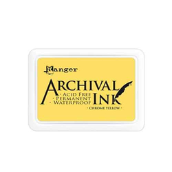 Archival Ink - Stempelkissen Chrome Yellow