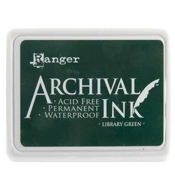 Archival Ink - Stempelkissen Library Green (grün)
