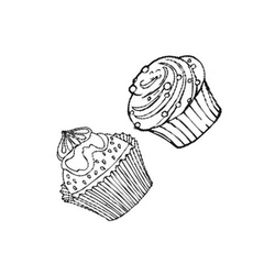 Stempel-Set Muffins / Cupcakes