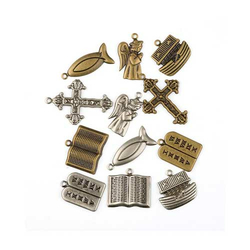 Metall Charms Religion