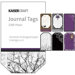 Journal Tags 13th Hour (Halloween)