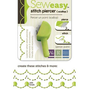 Sew Easy Stitch Piercer Scallop (Wellenrand)