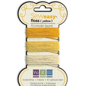 Sew Easy  Floss Yellow (gelb)
