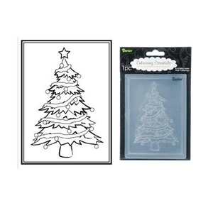Embossing Folder (Prägefolder) Christmas Tree