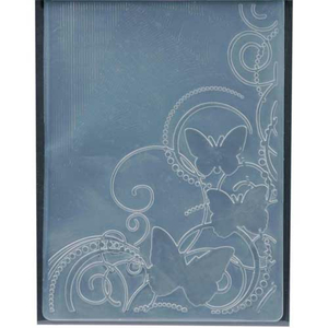 Embossing Folder (Prägefolder) Butterfly (Swirls)