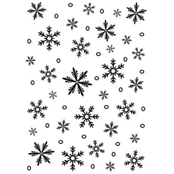 Embossing Folder Schneeflocken