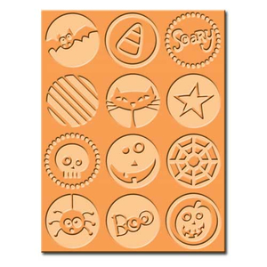 Embossing Folder (Prägefolder) Halloween (Boo to you)