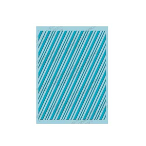 Embossing Folder (Prägefolder) Streifen / Candy Cane Stripes