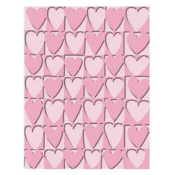 Embossing Folder (Prägefolder) Heart Blocks