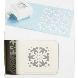 All over the page punch Stanzer Scallop Snowflake