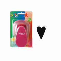 Motivlocher Picture Punch Herz lang 1,5 cm