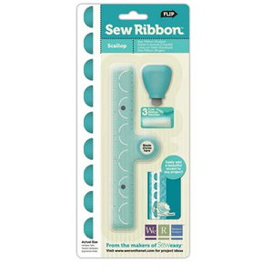 Sew Ribbon Scallop