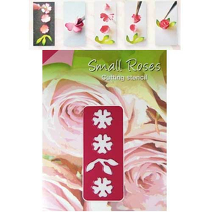 Stanzschablone Small Roses