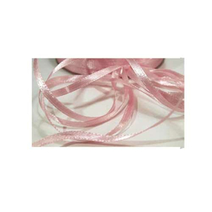 Satinband 3 mm rosa - 100 m