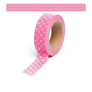 Washi-Tape Punkte Polka Dots pink