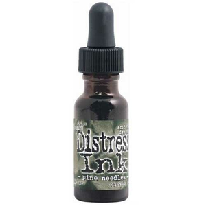 Distress Ink Pine Needles Re-Inker