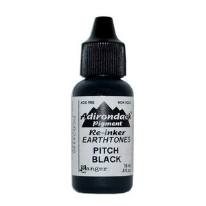 Adirondack Re-Inker Pitch Black (schwarz) - 15 ml