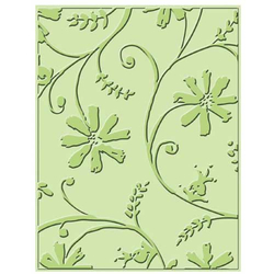 Embossing Folder (Prägefolder) Stylized Flowers