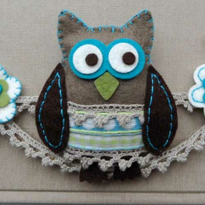 Collectables Stanzschablonen-Set Owl (Eule)