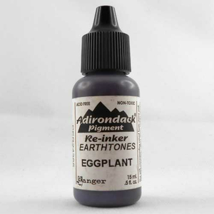 Adirondack Re-Inker Eggplant (lila) - 15 ml