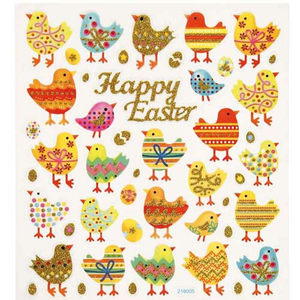 Sticker Ostern Happy Easter
