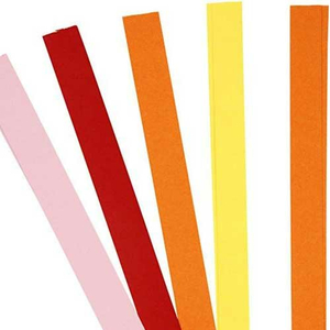 Quillingstreifen rot orange gelb rosa - 5 mm x 78 cm*