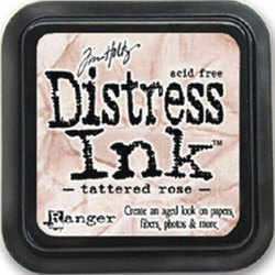 Distress Ink Tattered Rose Stempelkissen