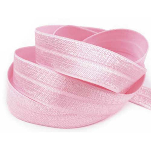 Gummiband rosa extra weich 20 mm - 1 Meter