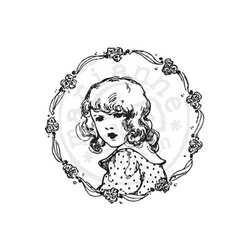 Stempel Flower Girl