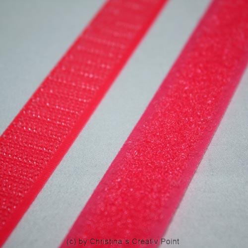 klettverschluss neon rosa knalliger klett 20 cm. Black Bedroom Furniture Sets. Home Design Ideas