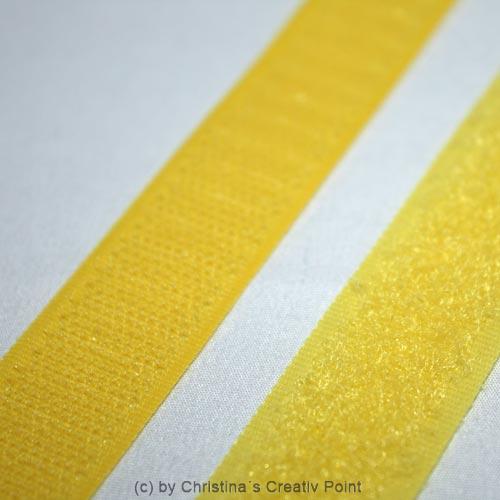 klettverschluss gelb 20 cm 2 tlg. Black Bedroom Furniture Sets. Home Design Ideas