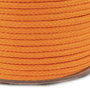 Kordel / Schnur 2 mm - orange NEON 3 m