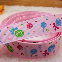 Motivband Lolli rosa 16 mm