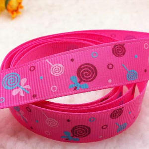 Motivband Lolli pink 16 mm