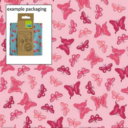 Fat Quarter Romantic Schmetterlinge rosa 45 x 50 cm