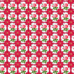Fat Quarter So Cute Rosen 45 x 50 cm