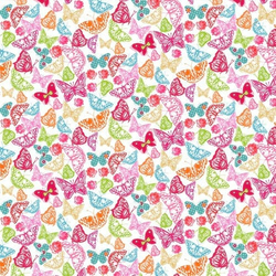 Fat Quarter So Cute Schmetterlinge 45 x 50 cm