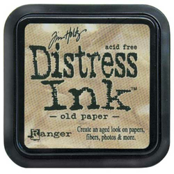 Mini Distress Ink Old Paper Stempelkissen