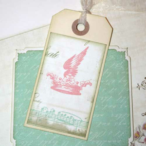 Scrapbooking-Tags / Paper Tags 5 x 10 cm 20 St.
