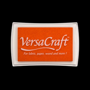 VersaCraft Stoffstempelkissen Tangerine (orange)