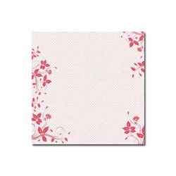 Scrapbooking Folie - pink Border