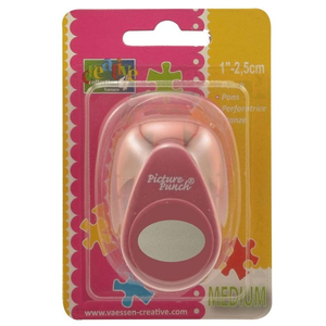 Motivlocher Picture Punch Oval / Ei 2,5 cm