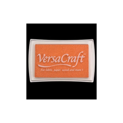 VersaCraft Stoffstempelkissen Apricot (orange)