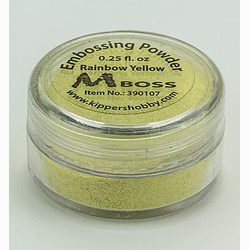 MBoss Embossingpulver RainbowYellow (Gelb)